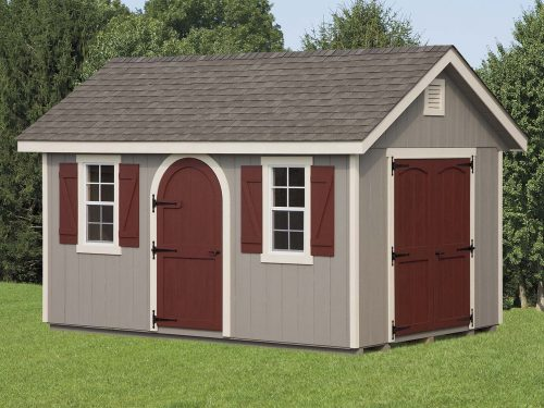 faux wooden classic cottage shed