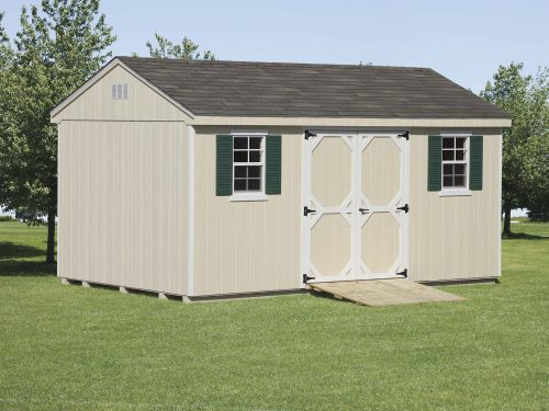 cape style custom classic cottage shed