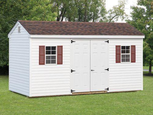 white vinyl custom classic cottage