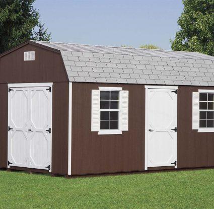 brown dutch barn