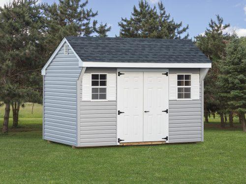 gray vinyl quaker shed