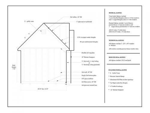 alpine sketch floor plan