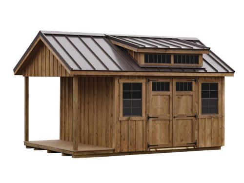 wooden classic studio dormer