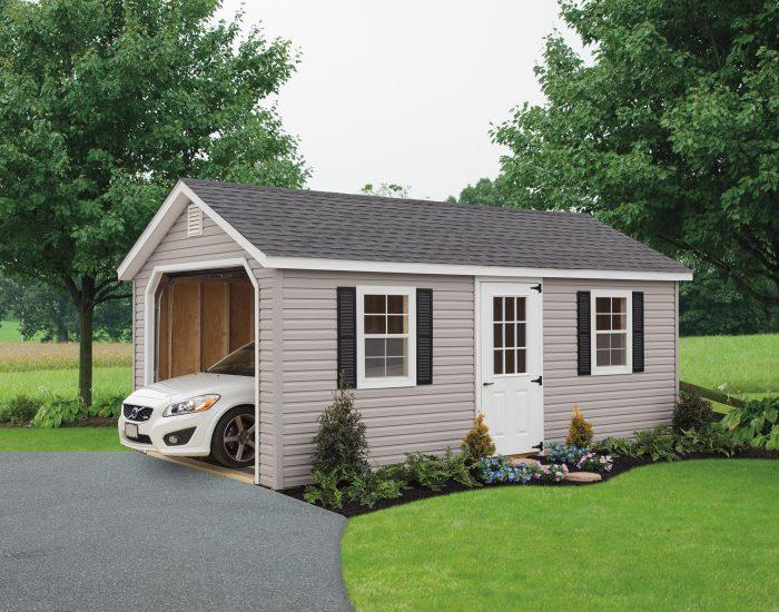 Classic Cottage Garage