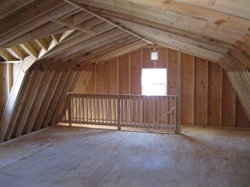 two story barn loft