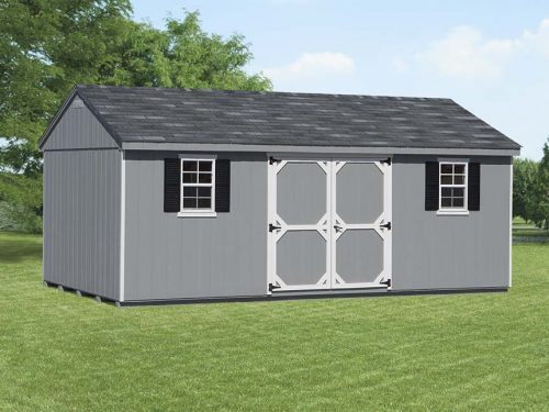 gray cottage shed