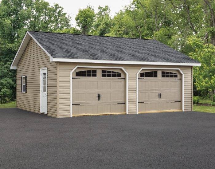 24x24 Two Car Detached Garages For, How Much Is A 2 Car Detached Garage