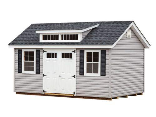 gray vinyl classic studio shed